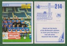 Leicester City Team 214